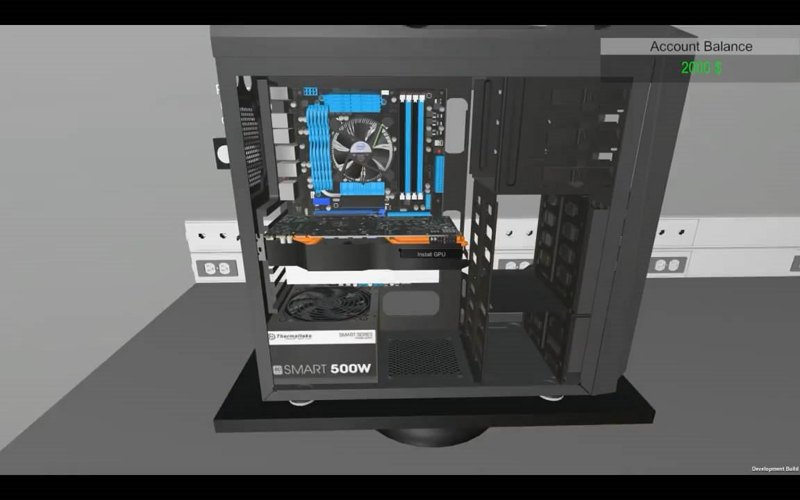 电脑装机模拟器插图2