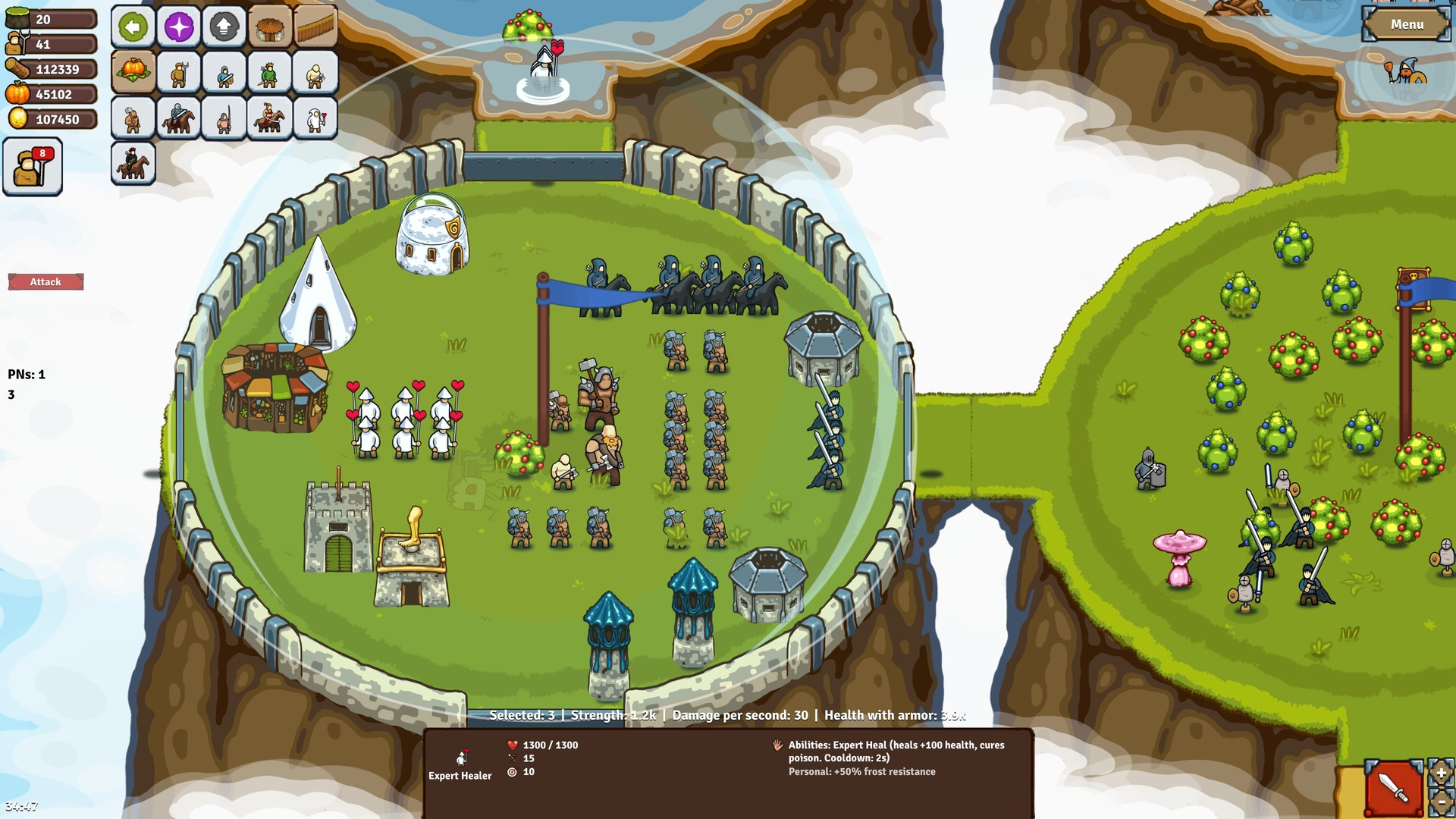 环形帝国对决/Circle Empires Rivals单机.局域网联机插图2